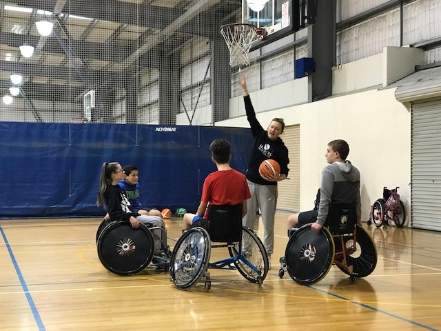 Wheelchair Basketball Clinic