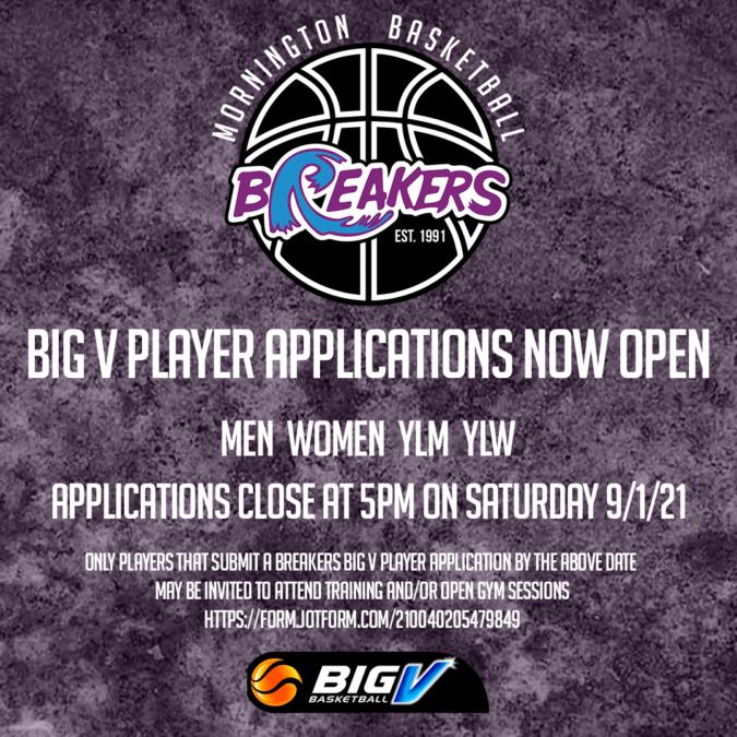 BigV Player Application Cover