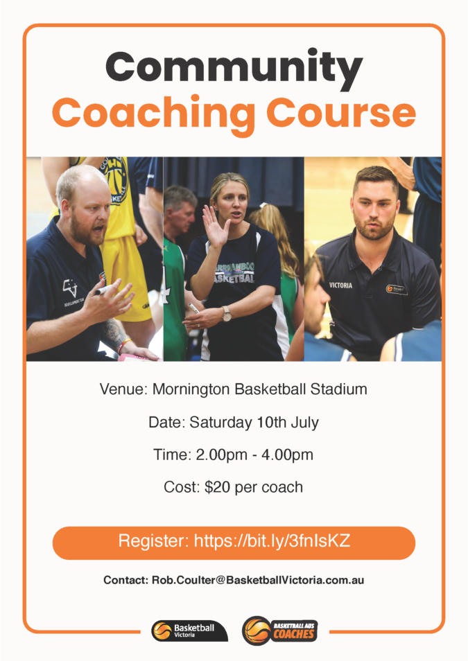 Mornington Community Coach Course